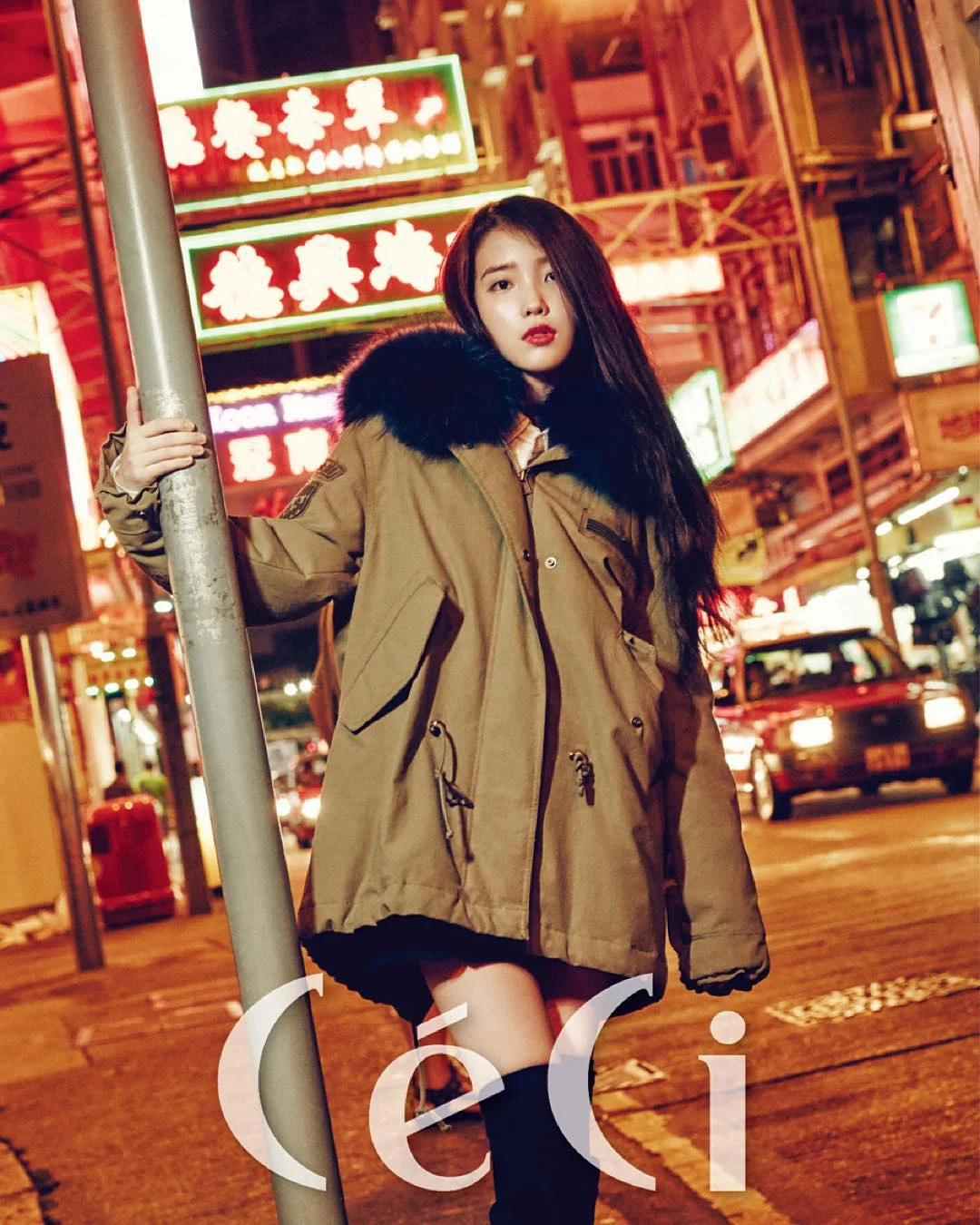 韩国当红偶像IU真是什么颜色都能驾驭啊!插图24