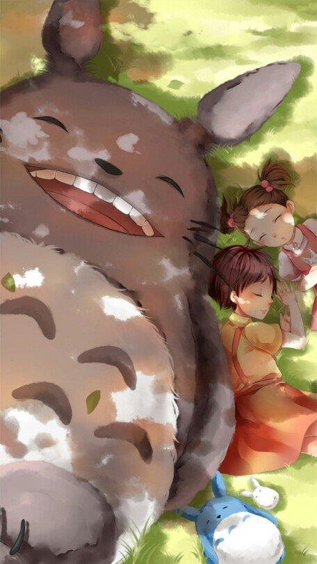 龙猫动漫壁纸高清图片大全