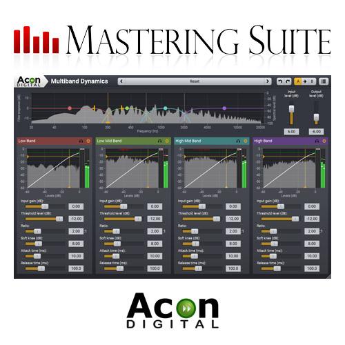 Acon Digital Mastering Suite 1.0.7 破解版 – 音频母版制作插件