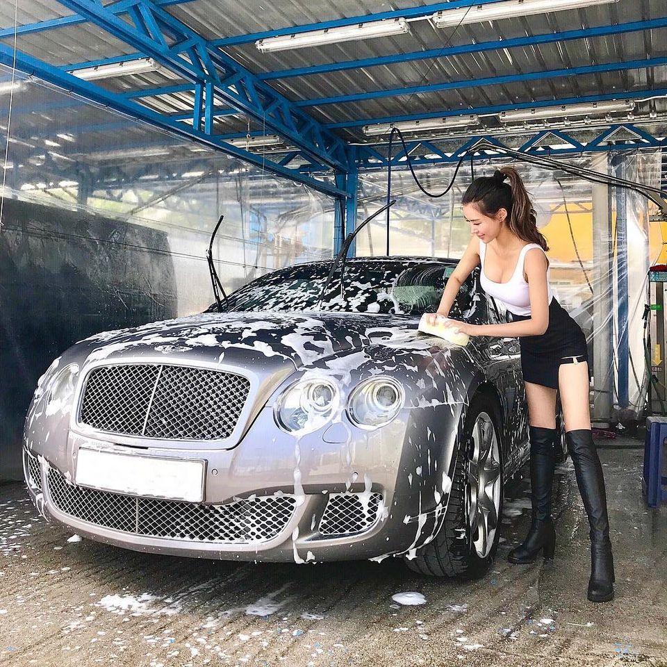 大胸妹叶凯琪自助洗车呼之欲出爆风景让人看傻眼 男人文娱 热图5