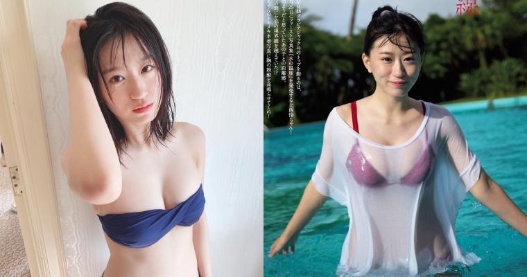 19 岁女团NMB48 成员「上西怜」身材超不科学!湿身晒「F 罩杯」辣翻