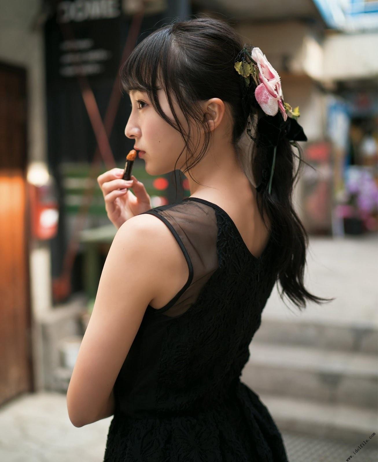 NMB48次世代王牌山本彩加引退转当护理师超暖原因让人更爱她了 网络美女 第41张