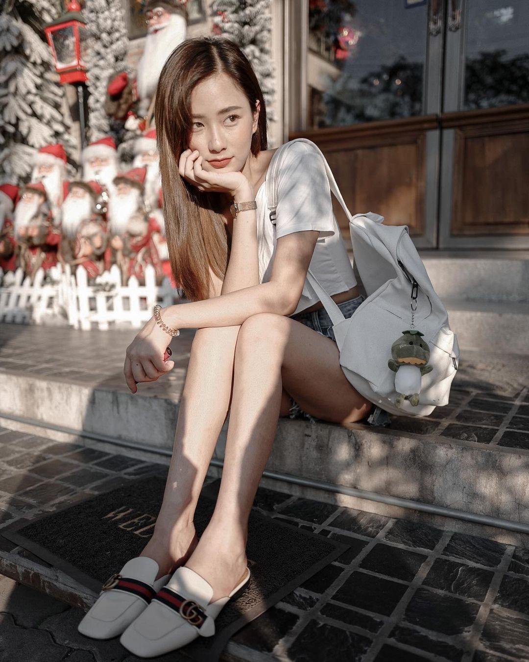 图片[18]-泰国也有天菜!清新神正「邻家美少女」,笑容甜美还有超纤细美腿!-福利巴士