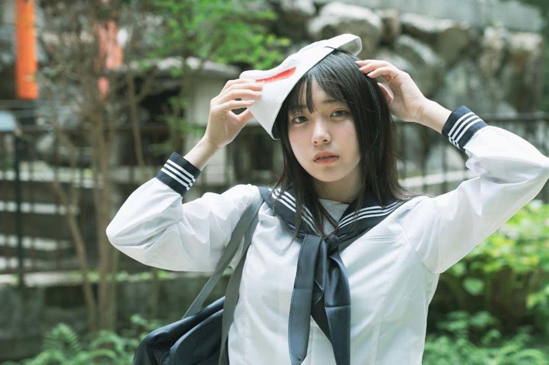 17岁仙女高中生瀬戸りつ绝美长相激似IU 全身散发空灵气质美到有点不真实 养眼图片 第34张