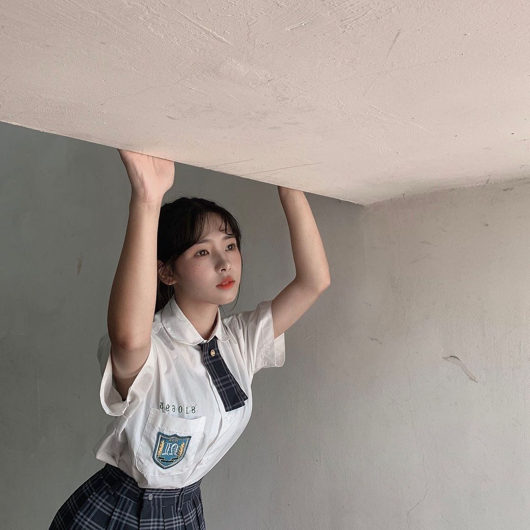 超甜美17岁高中生!「清纯可人」漂亮小妹妹罗菱,小小年纪却有大大人气!-新图包