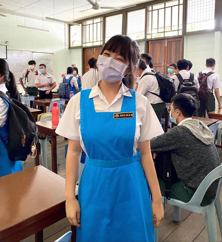 马来西亚女高中生制服