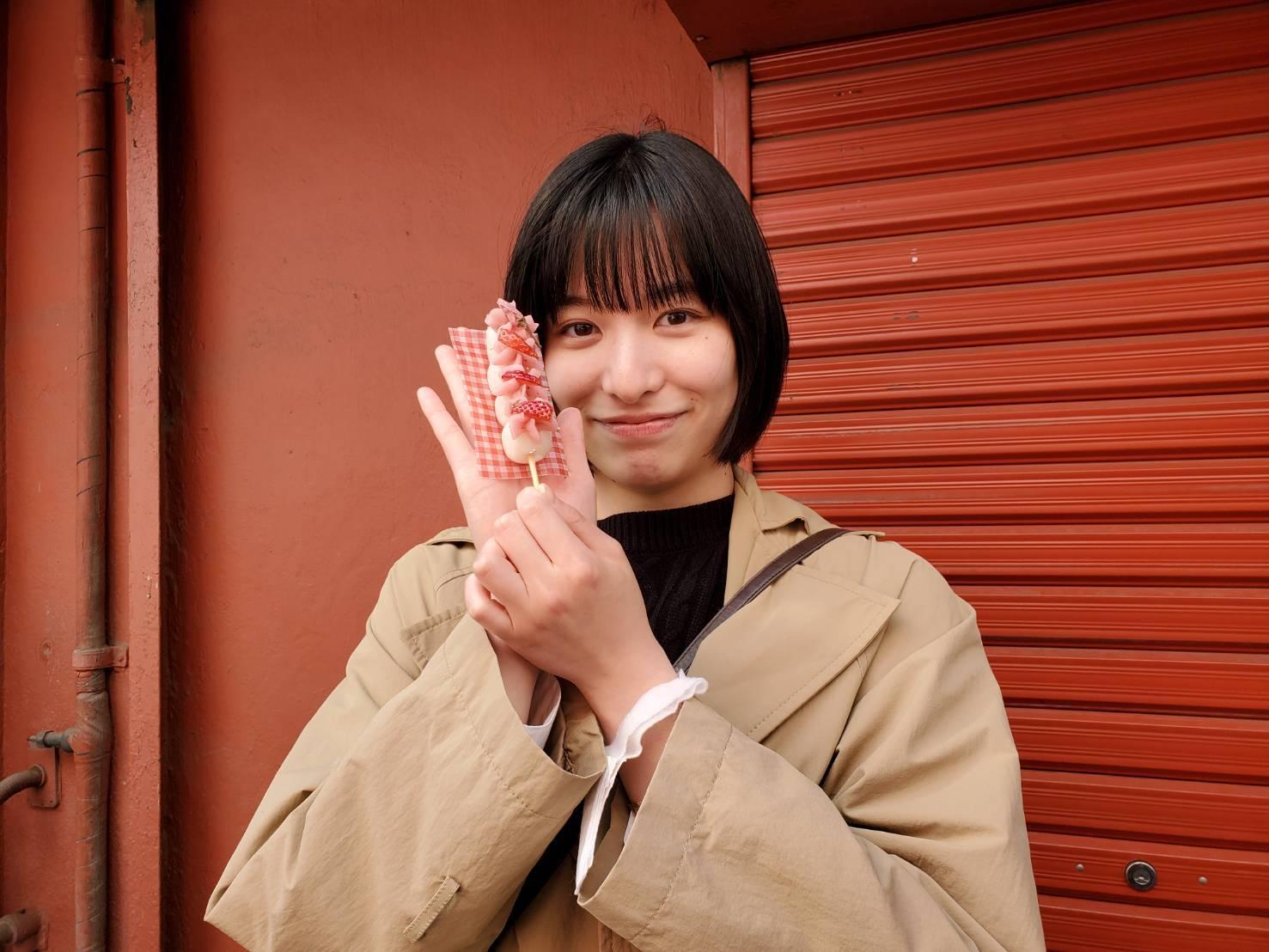 19 岁短发新星「东出薫」处女作曝光.清纯气质掀话题 网络美女 第2张
