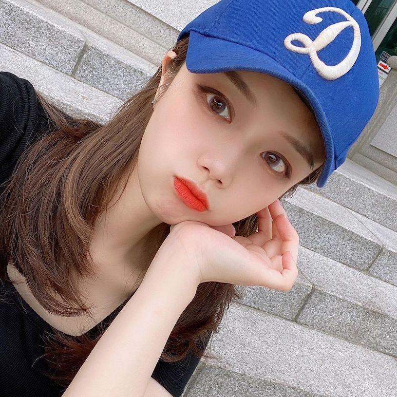 南韩短发正妹(ins:duck_zzi)