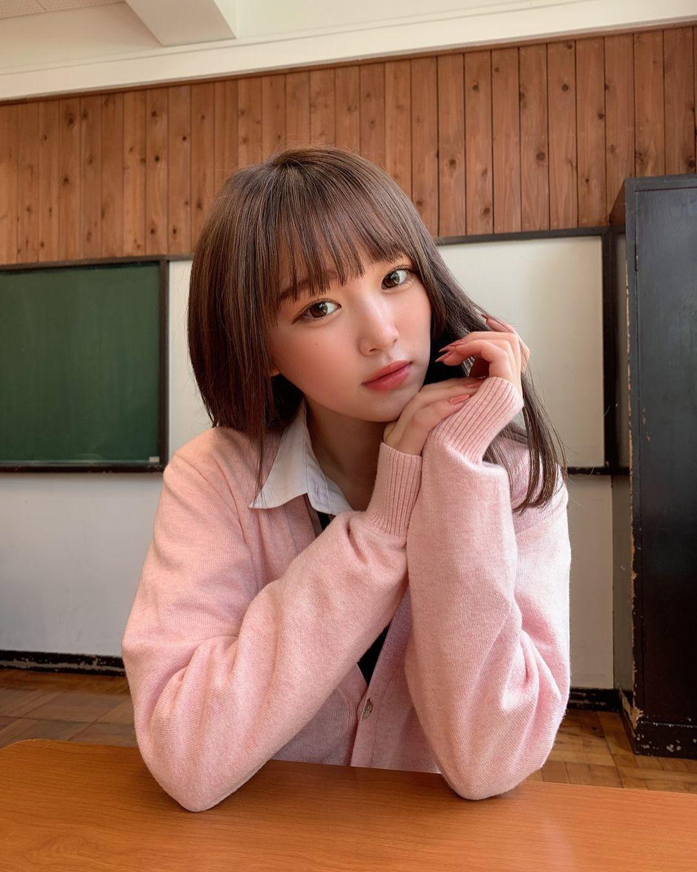 2005 年出生清新美少女平野梦来首度放风吸万粉 网络美女 第7张