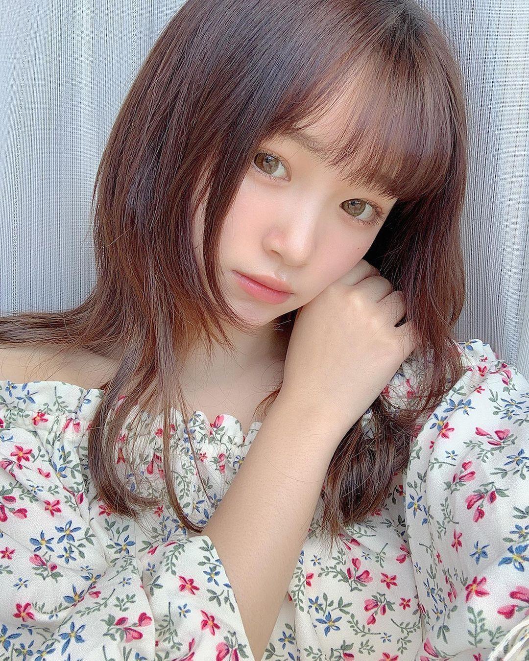 2005 年出生清新美少女平野梦来首度放风吸万粉 网络美女 第1张