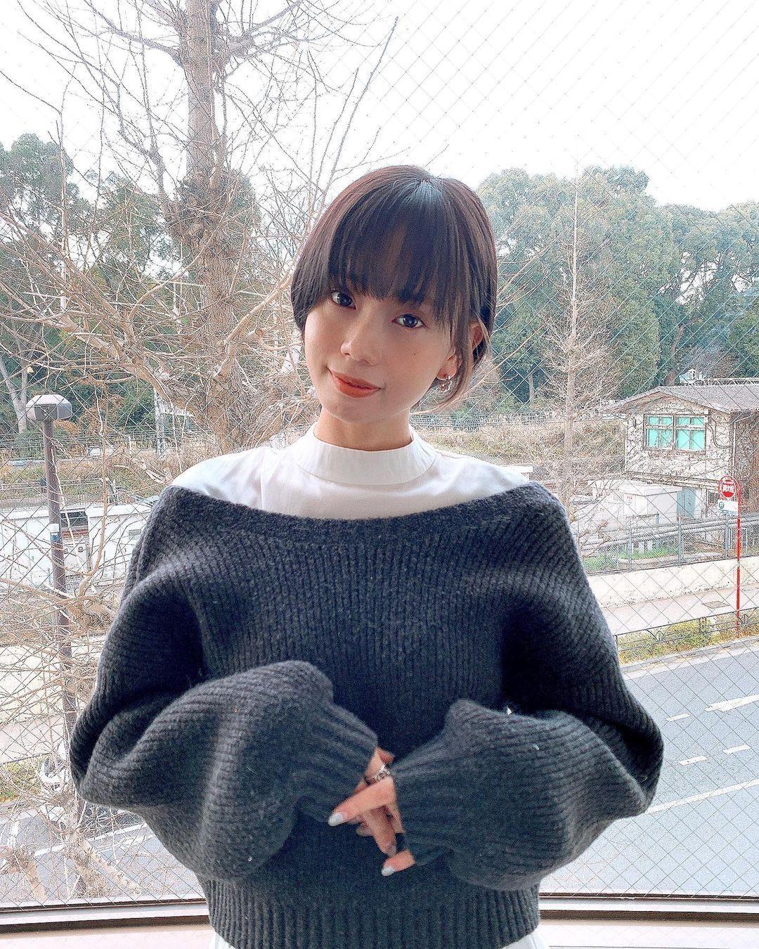 清纯短发美少女「东口优希」温暖气质让短发控一看就彻底疯狂-新图包