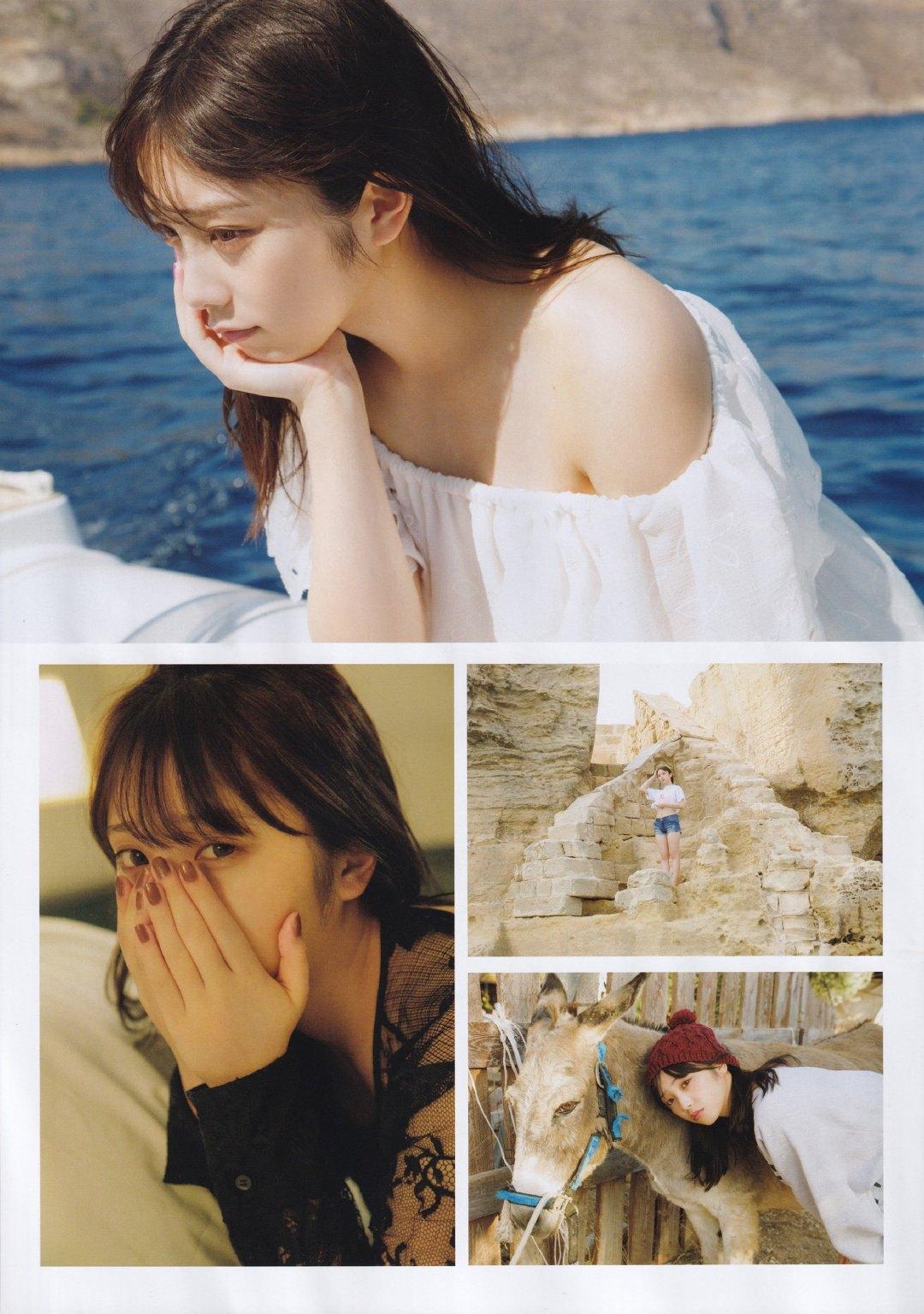 与田佑希清新脱俗美到让人深陷恋爱 养眼图片 第3张