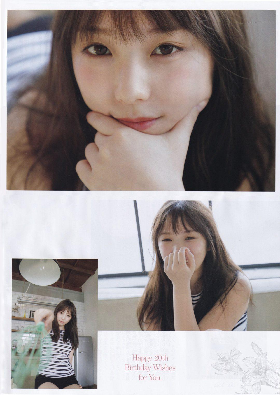 与田佑希清新脱俗美到让人深陷恋爱 养眼图片 第12张