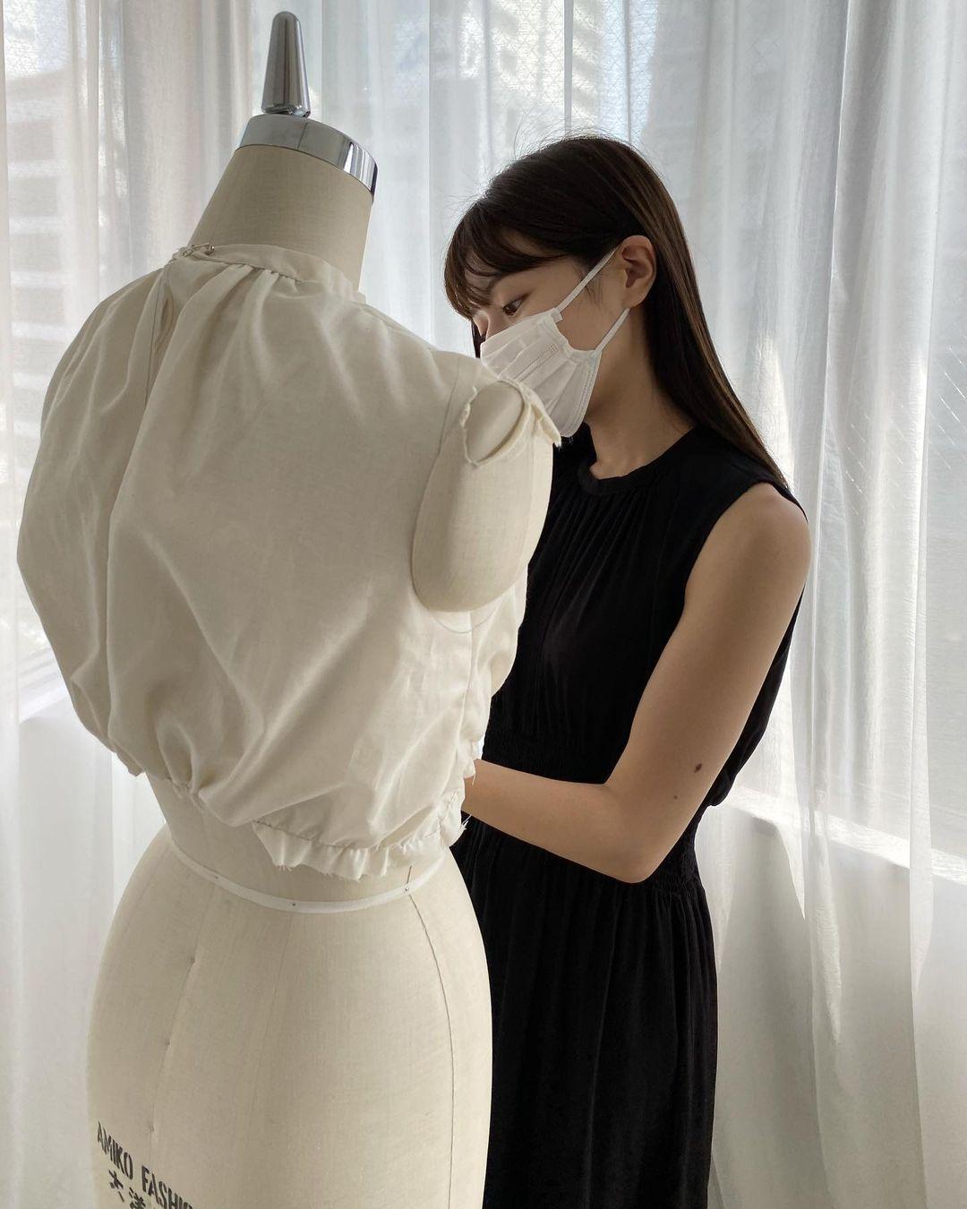 东京私立名校毕业的美女时装设计师日本妹子的清新甜美气质真的好可爱 养眼图片 第5张