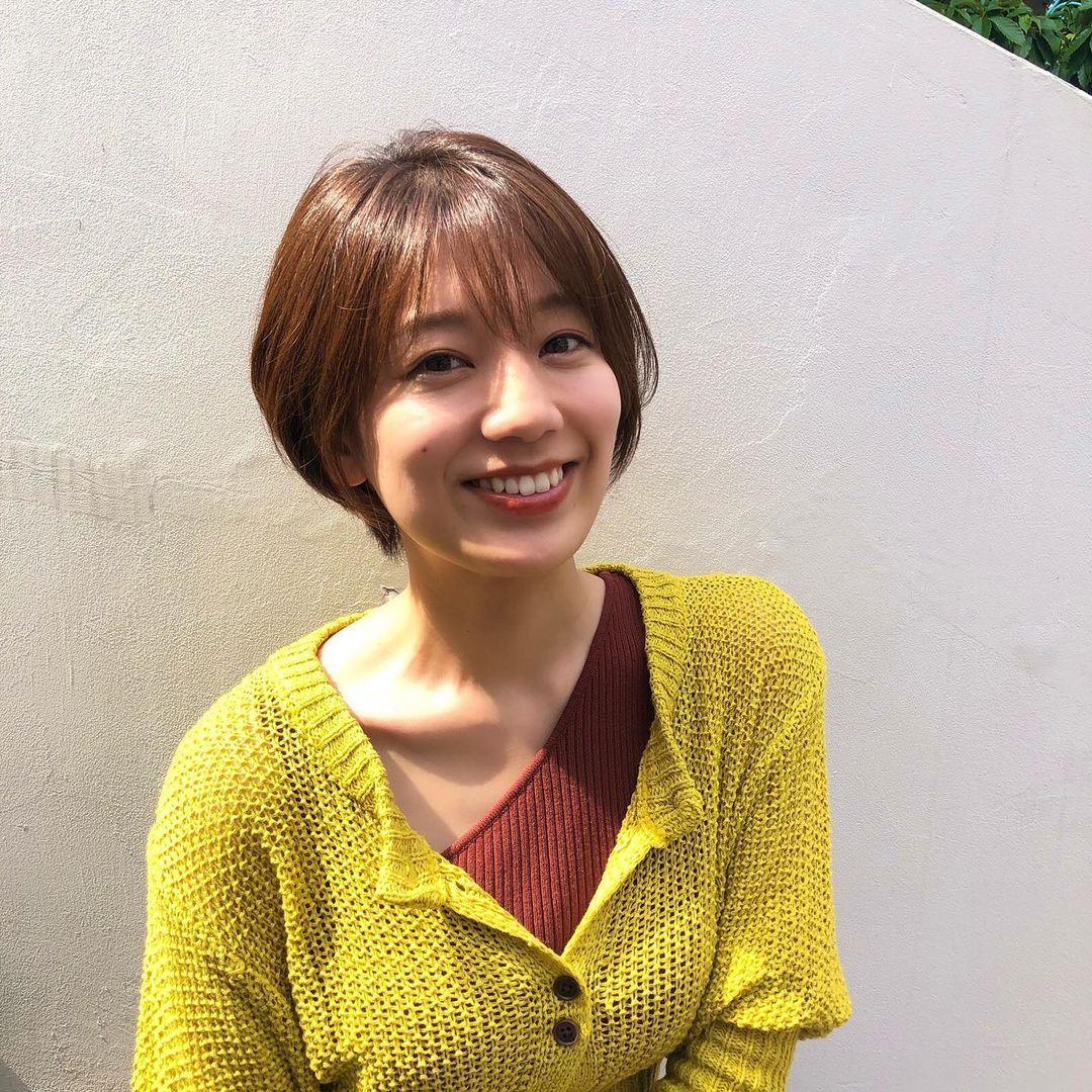 短发妹佐藤美希绝对能触动各位短发控心中最软的那一块 养眼图片 第7张