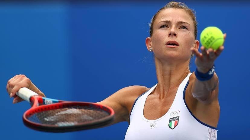 [东奥正妹]意大利网球女神小钢炮确定出战 超自律训练日常曝光 网络美女 第3张