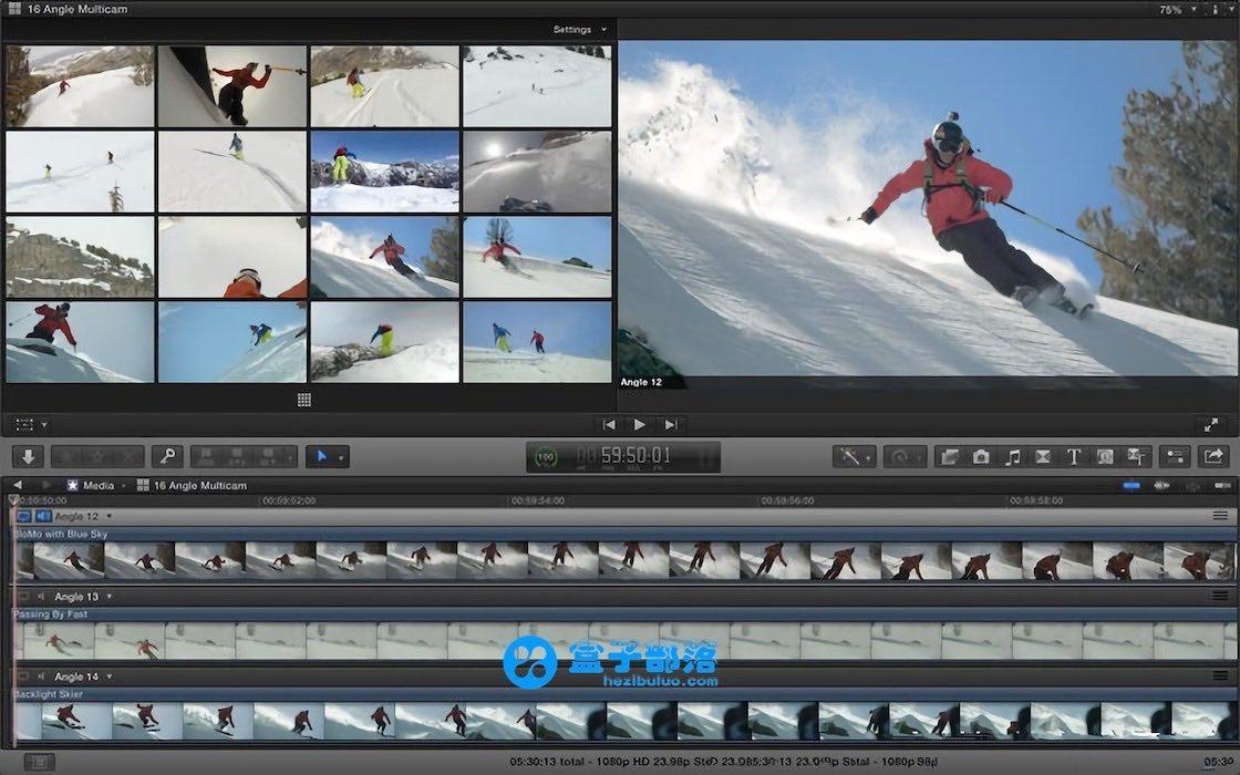 Final Cut Pro 10.4.4 一款 macOS 平台上强大的专业视频剪辑软件