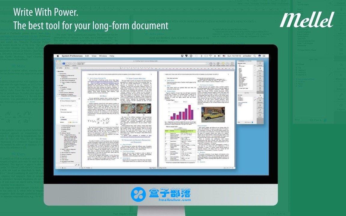 Mellel v4.1.3 一款优秀强大的国际论文写作工具
