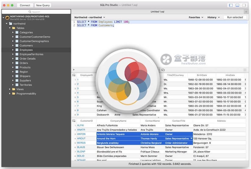 SQLPro Studio v1.0.180 数据库可视化管理工具 ,原生 MAC 应用