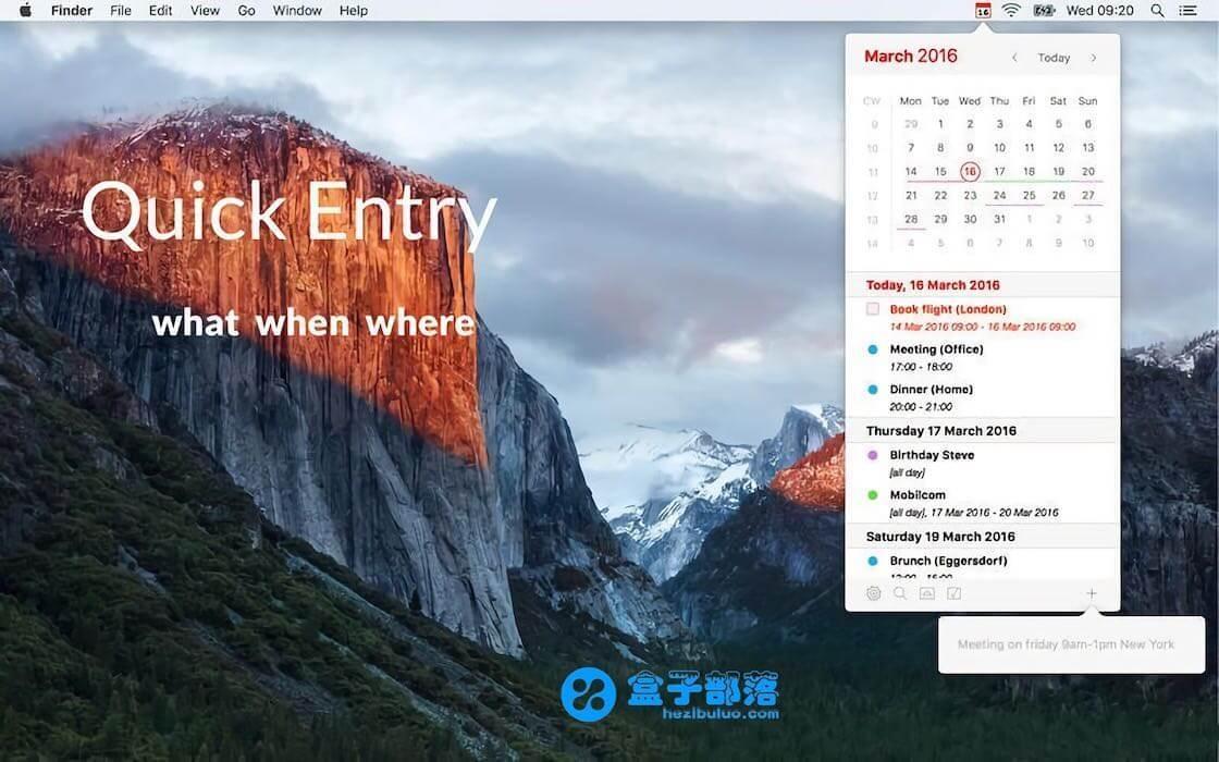 Calendar 366 II v2.4.1 轻量、简洁、直观好用的日历提醒工具