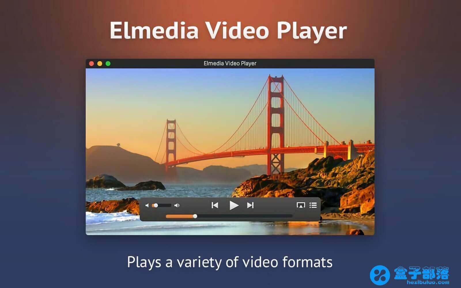 Elmedia Player Pro 7.0 经典的多功能 Flash 和 Media 媒体播放器