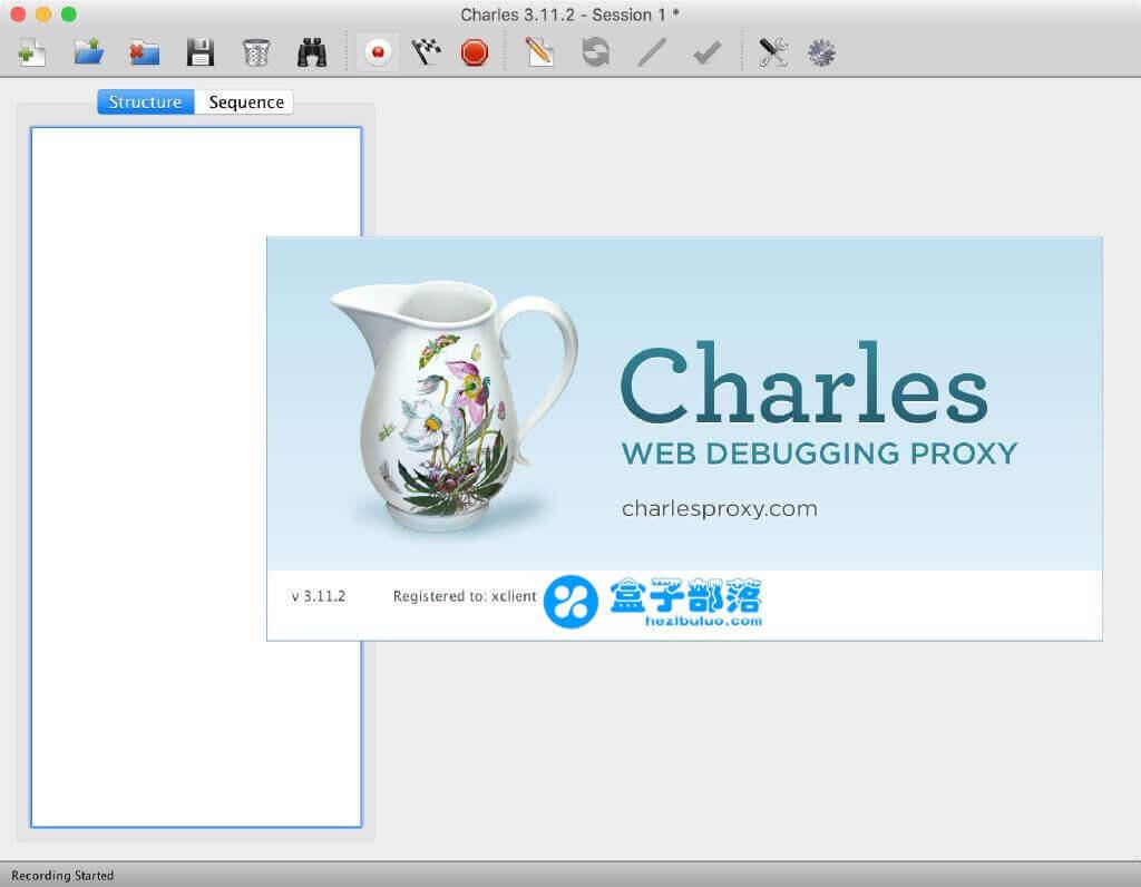 Charles 4.2.7 一款 HTTP 抓包工具,可以快速有效的获得 HTTP 信息