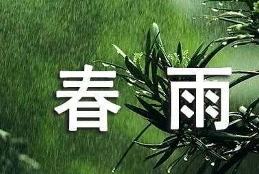 春雨,初春的雨,那就下吧,下吧……