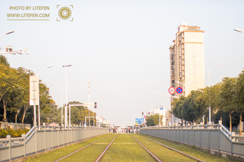 武汉商学院 有轨电车