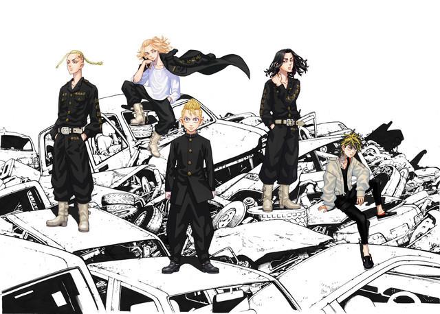 漫画《东京卍复仇者》TV动画化确定,2021年播出- 布丁次元社