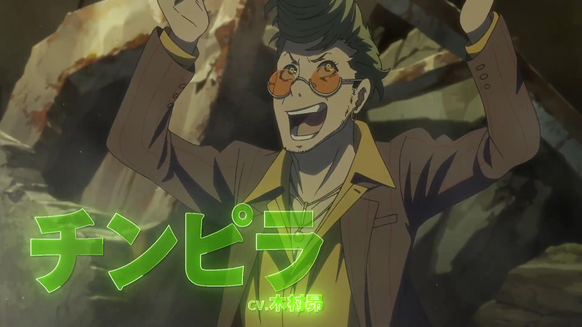 TV动画《恶棍DRIVE》PV2公开,10月8日开播-