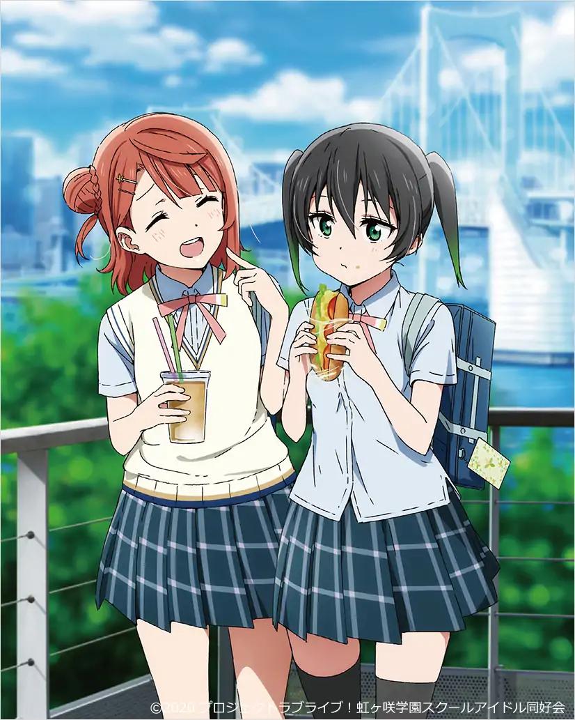 【动漫情报】10月新番《LoveLive! 虹咲学园》、《魔劣 来访者篇》BD第一卷封面公开!