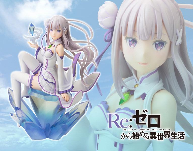 【手办】寿屋《Re:从零开始的异世界生活》爱蜜莉雅 手办再贩开定- ACG17.COM