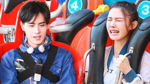 第12期:林允坐过山车吓哭