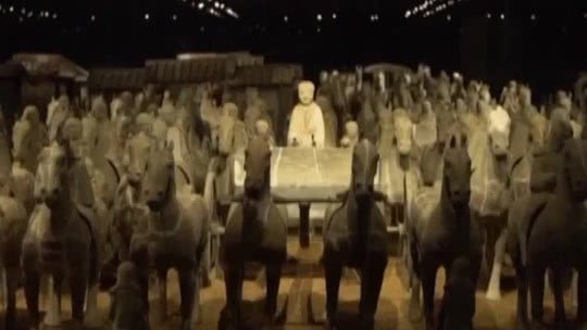 诡异地下军团·山王村兵俑发掘记