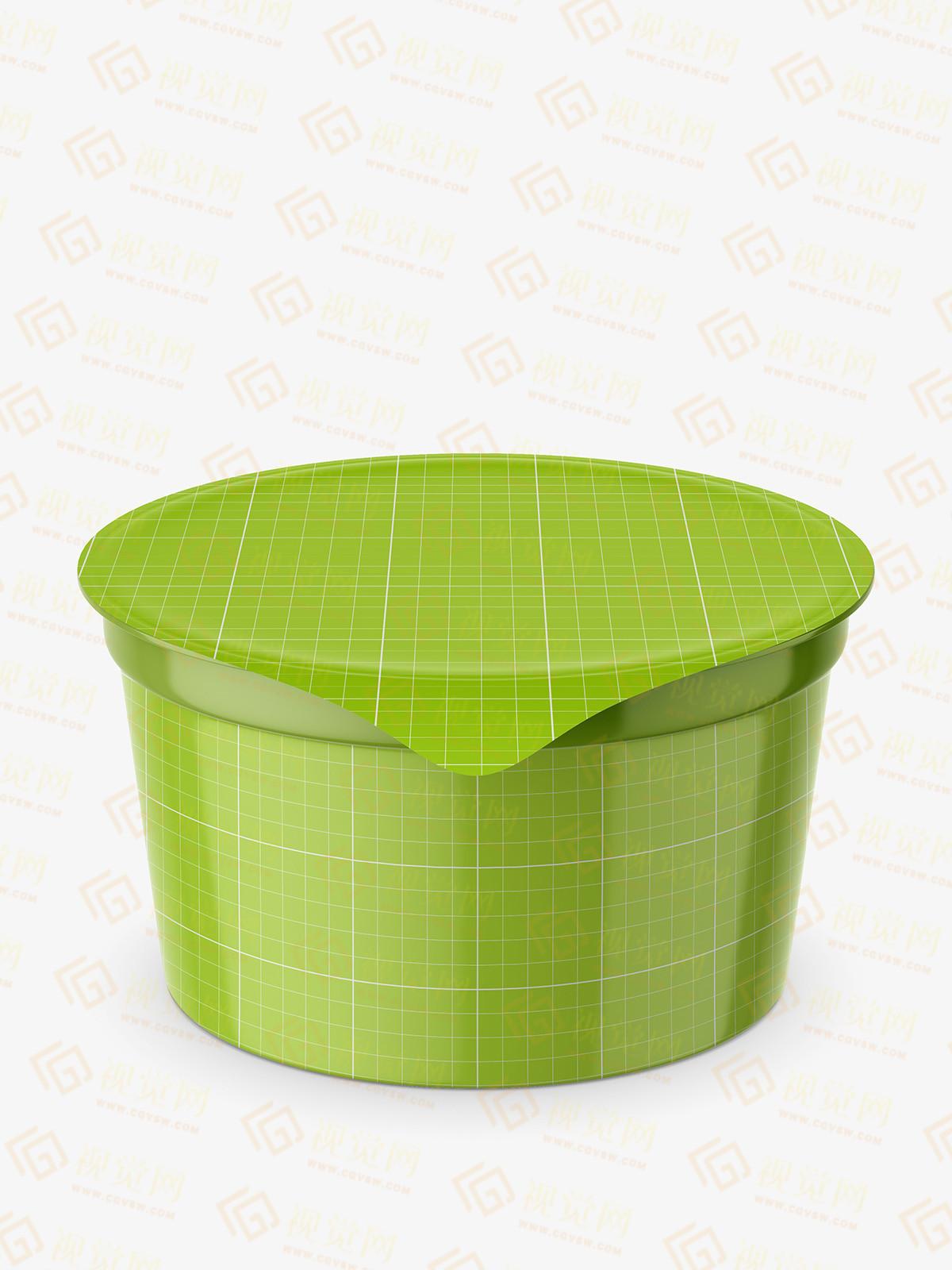 VI设计 | 乳制品包装盒PSD样机