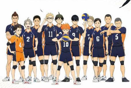 《排球少年》动画4期2020年1月播出!4期2季7月播出