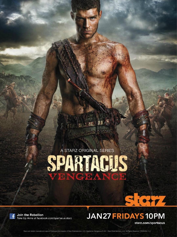 斯巴达克斯:复仇 第二季的海报