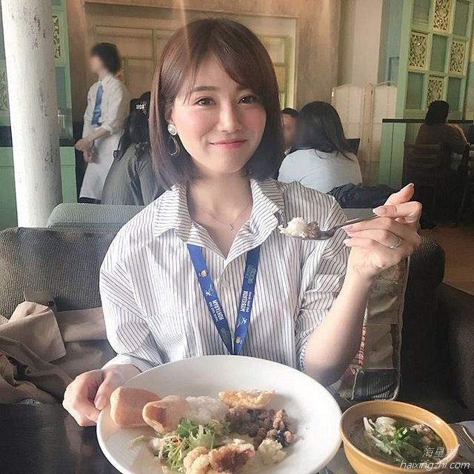 笑容太治愈,日本OL美女石井里奈满满正能量_17