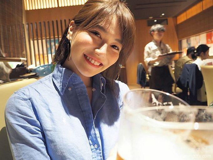 笑容太治愈,日本OL美女石井里奈满满正能量_26