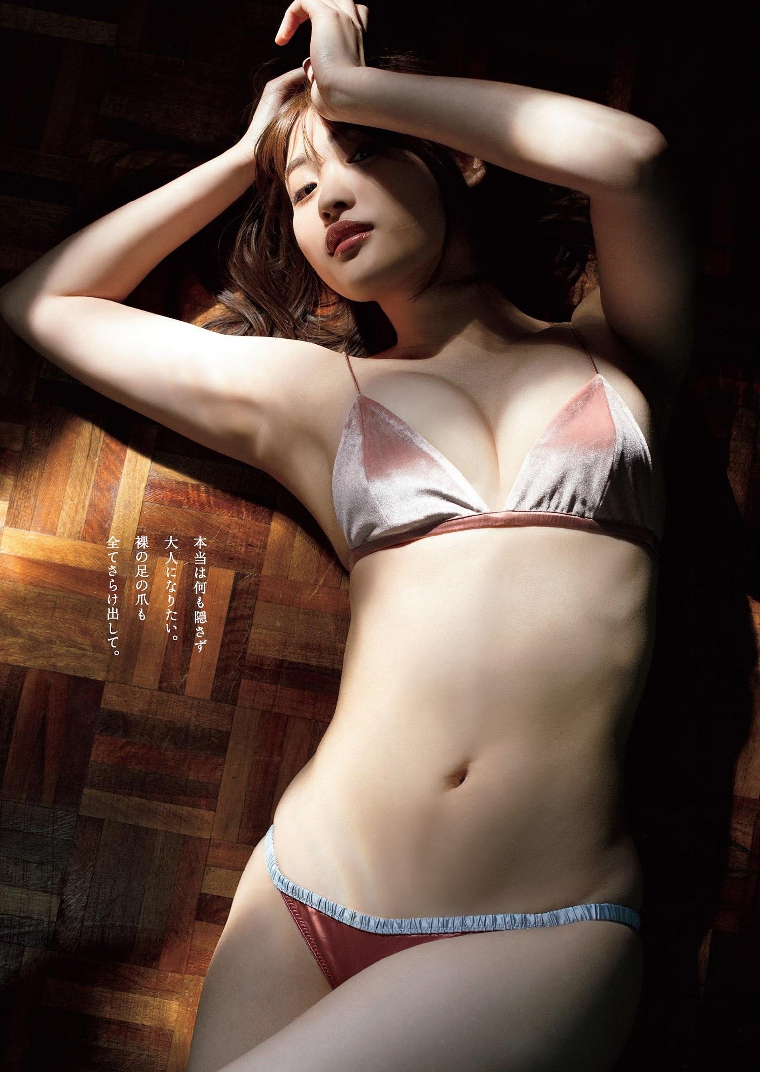 小山璃奈 頓知気さきな 伊藤美来-Weekly Playboy 2021年第十八期 高清套图 第36张