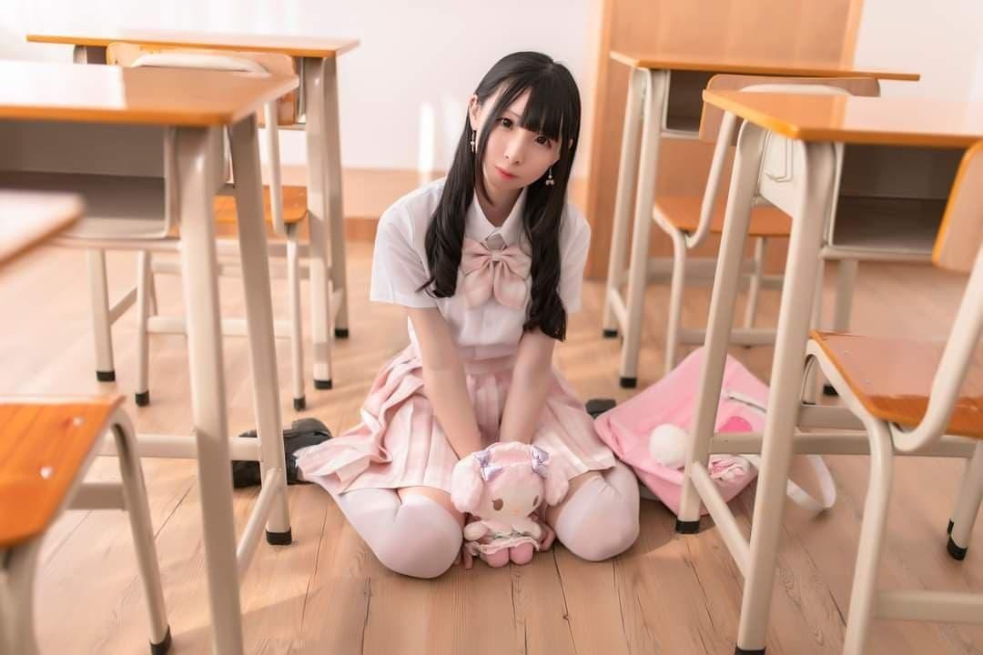 千年狐妖海边水着 JK少女教室白丝-COS精选二百五十四弹 动漫漫画 第28张