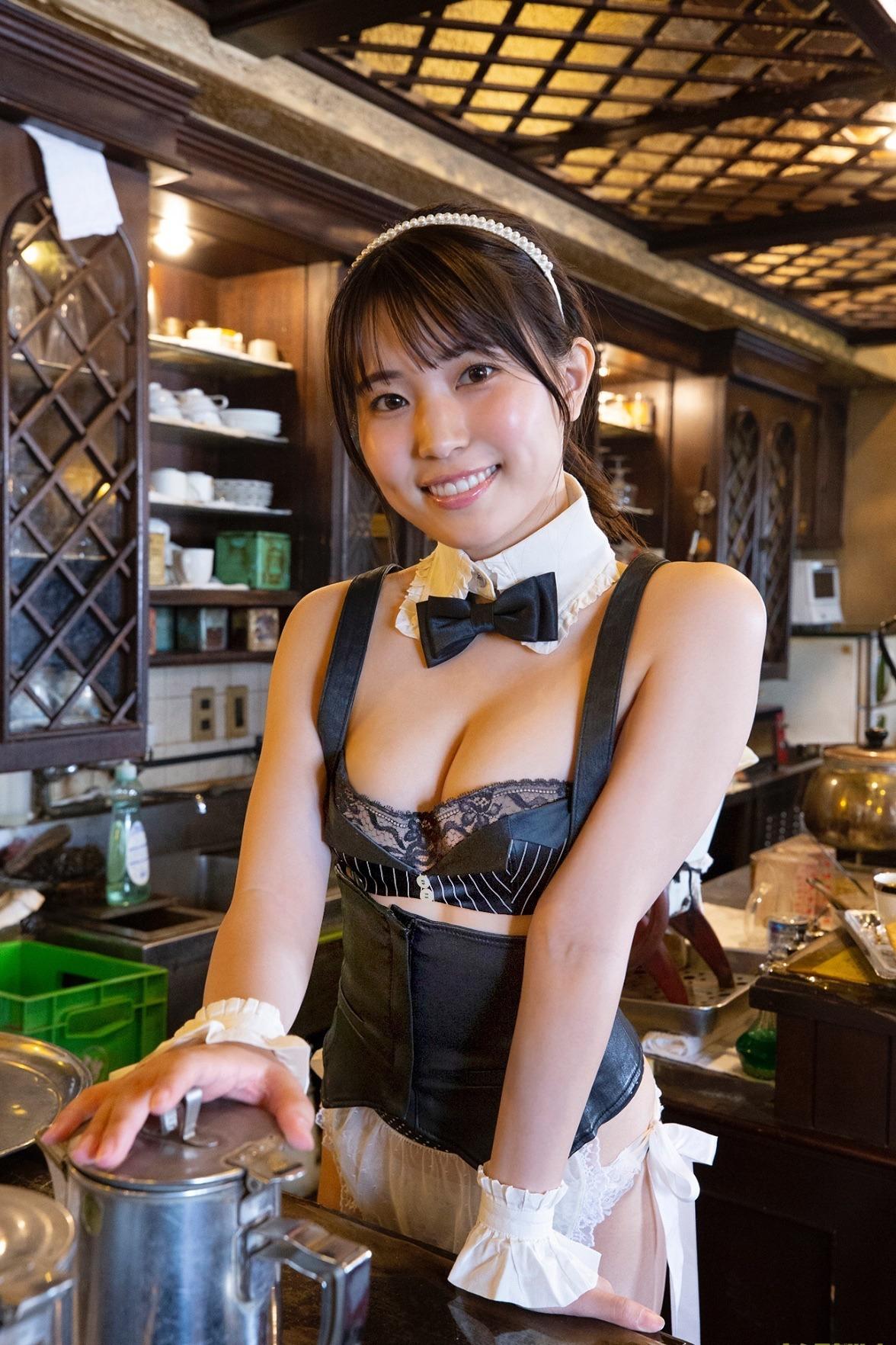 小身材 菠萝包-东瀛美女坂东遥推荐 养眼图片 第32张