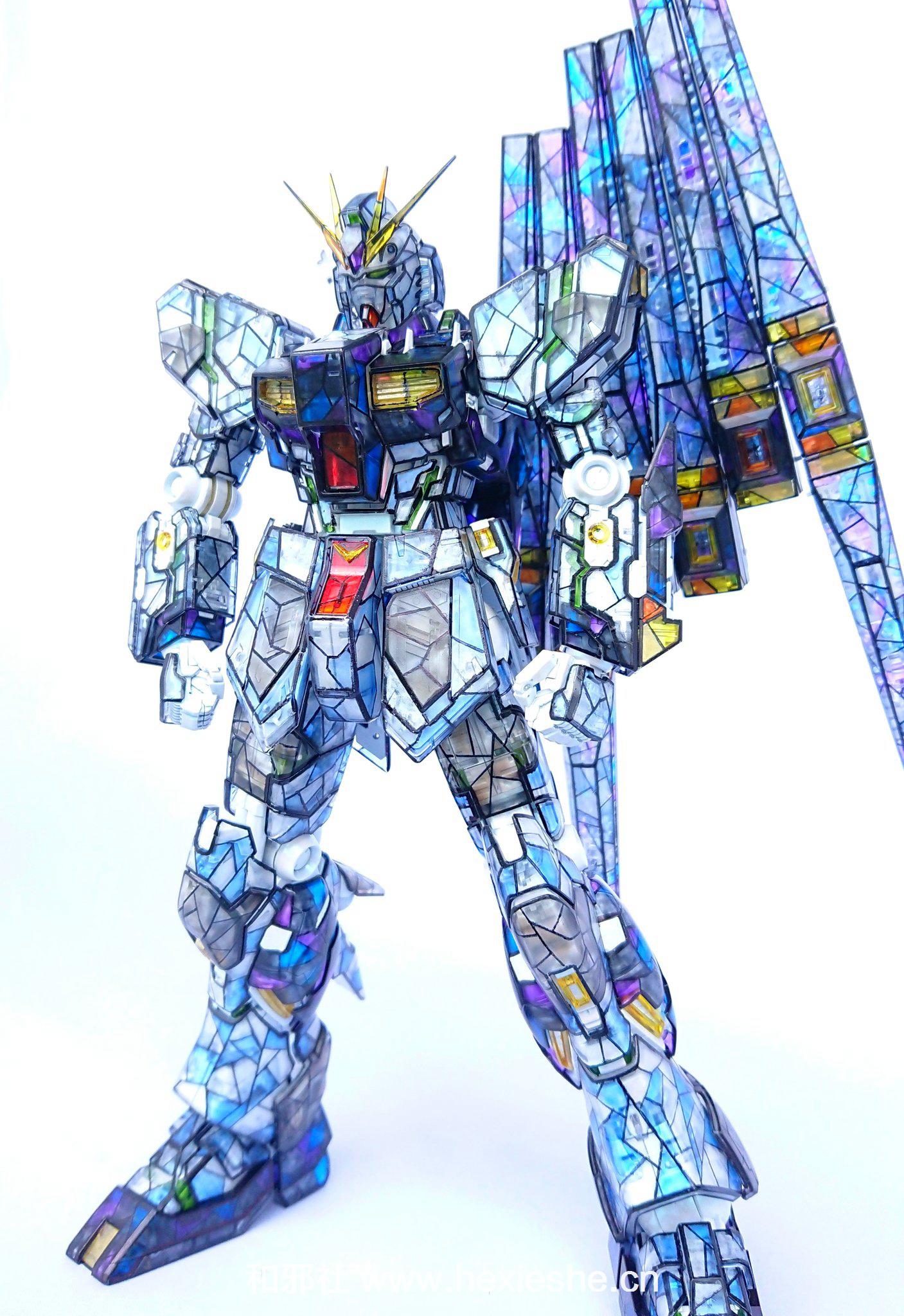 彩色玻璃RX-93 νGUNDAM_和邪社06