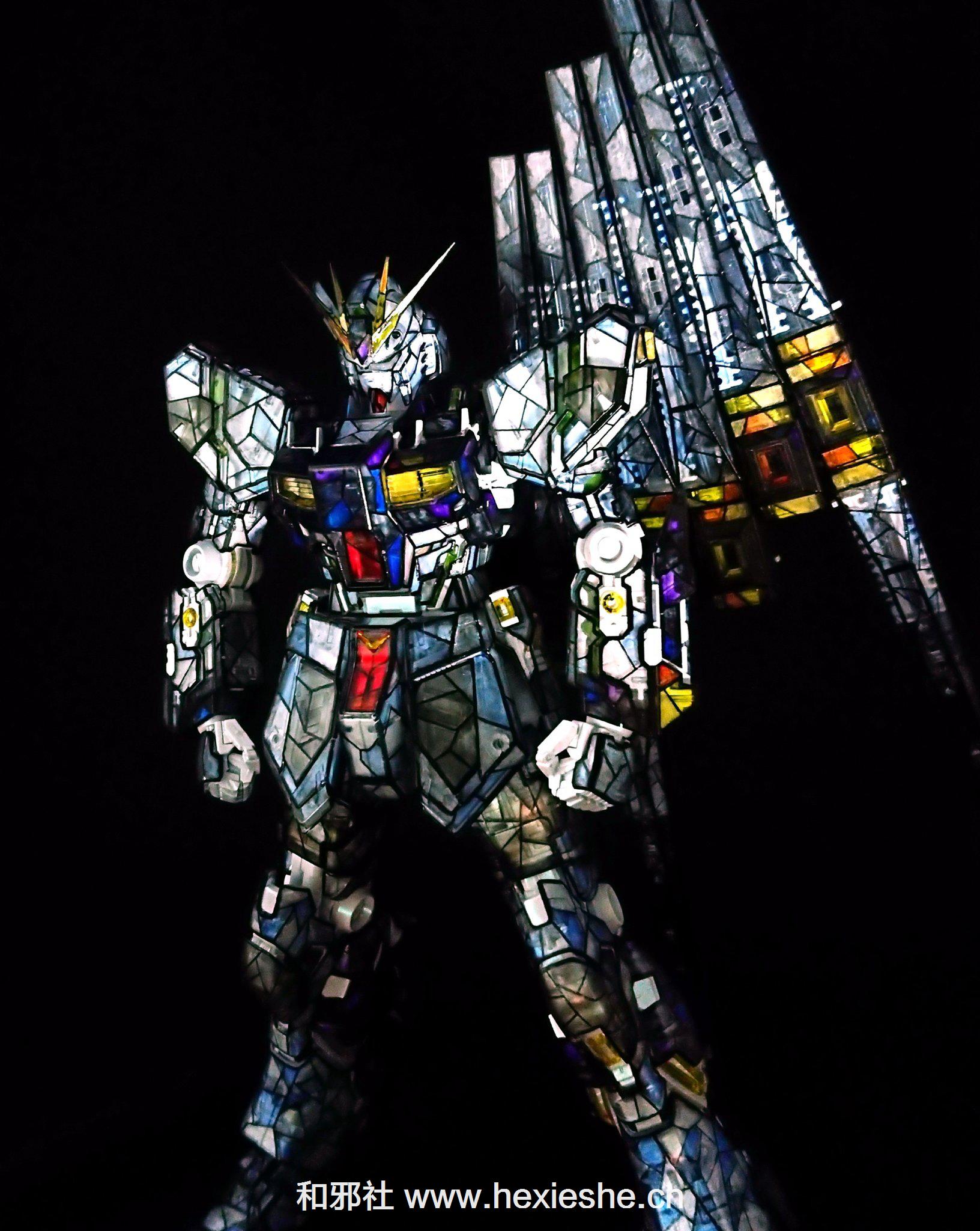 彩色玻璃RX-93 νGUNDAM_和邪社07