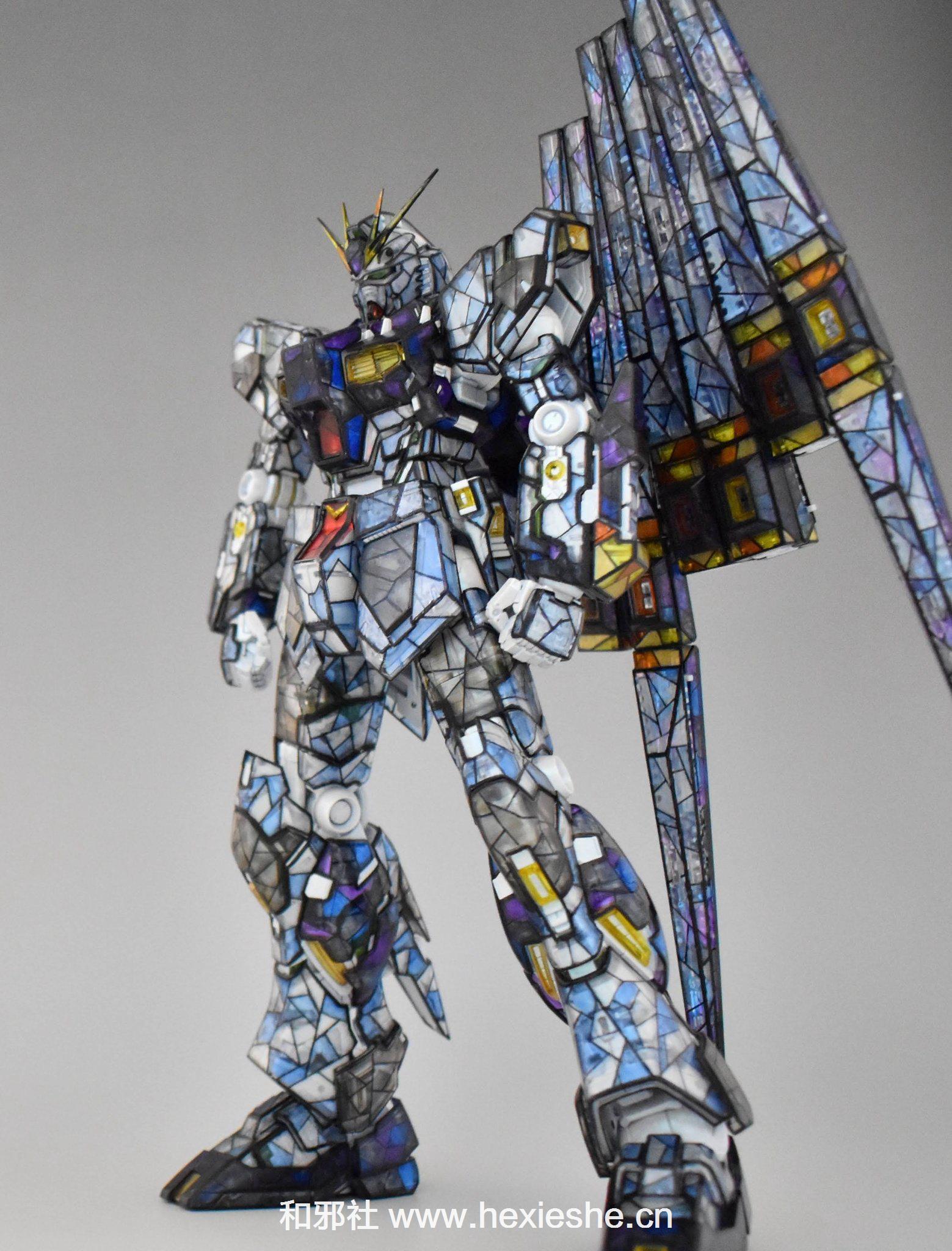 彩色玻璃RX-93 νGUNDAM_和邪社22