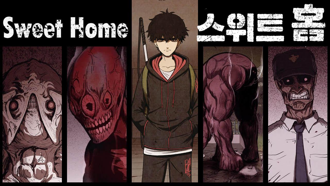 韩国恐怖漫画《Sweet Home》怪物来袭人命丧失但最恐怖的还是自身欲望 (1)