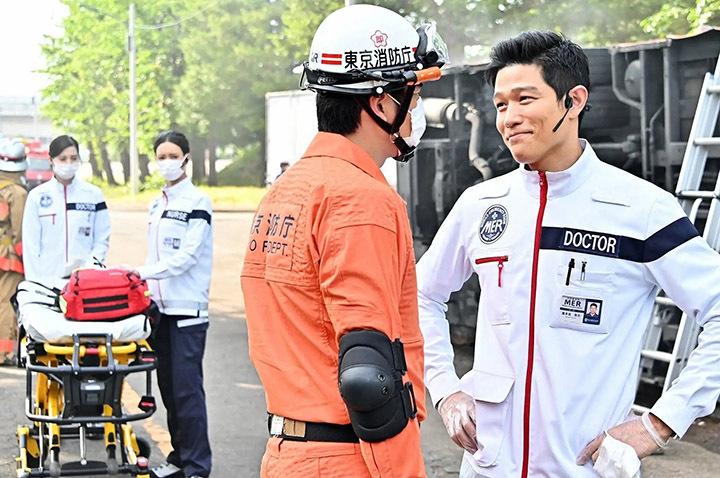 具有娱乐性的急救医疗剧《TOKYO MER~奔跑紧急救命室~》稳坐本季收视冠军 (5)