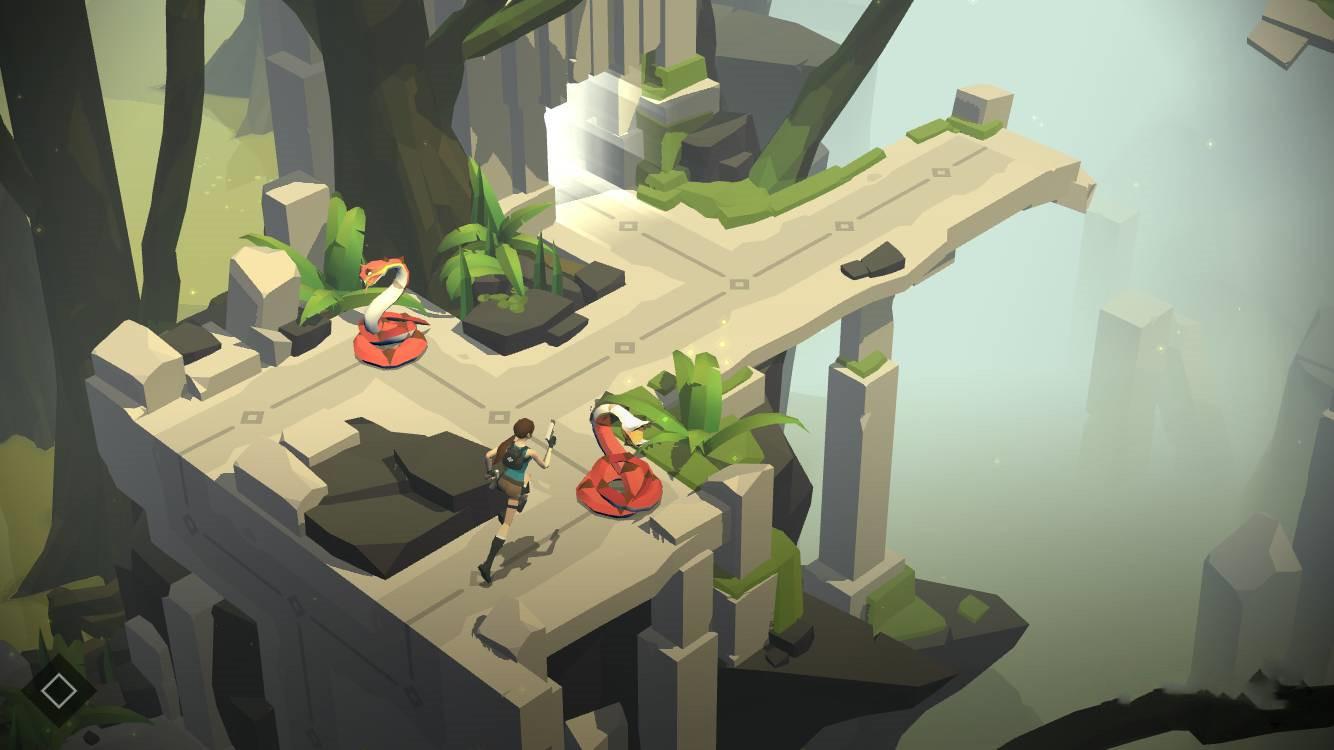 游戏《Lara croft Go》古墓迷宫探险闯关充满震撼和挑战 (2)