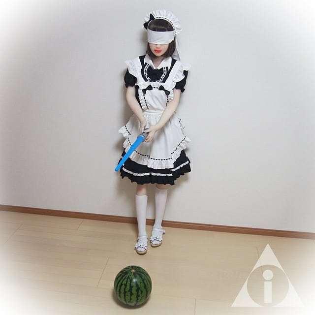 带你领略日本现实举办的只有在日剧或者动漫中才看到的大西瓜比赛 (7)