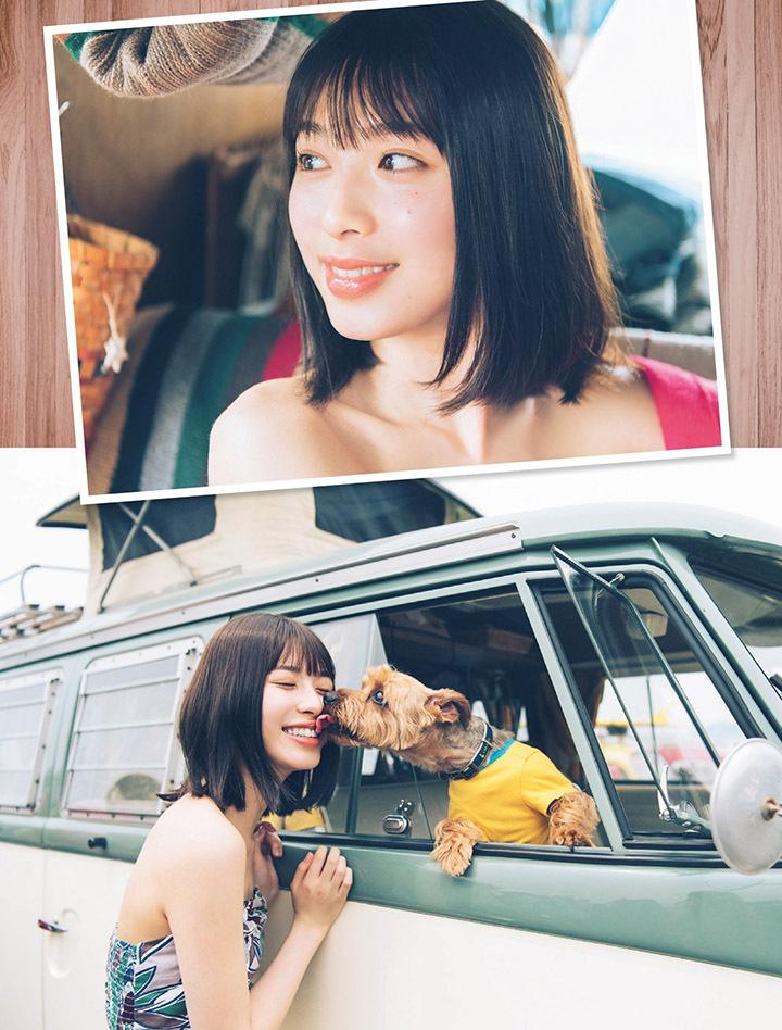 甜美怡人疗愈气息十足的纯爱系演员白石圣用自己强大的空灵气场来拍摄写真作品 (13)